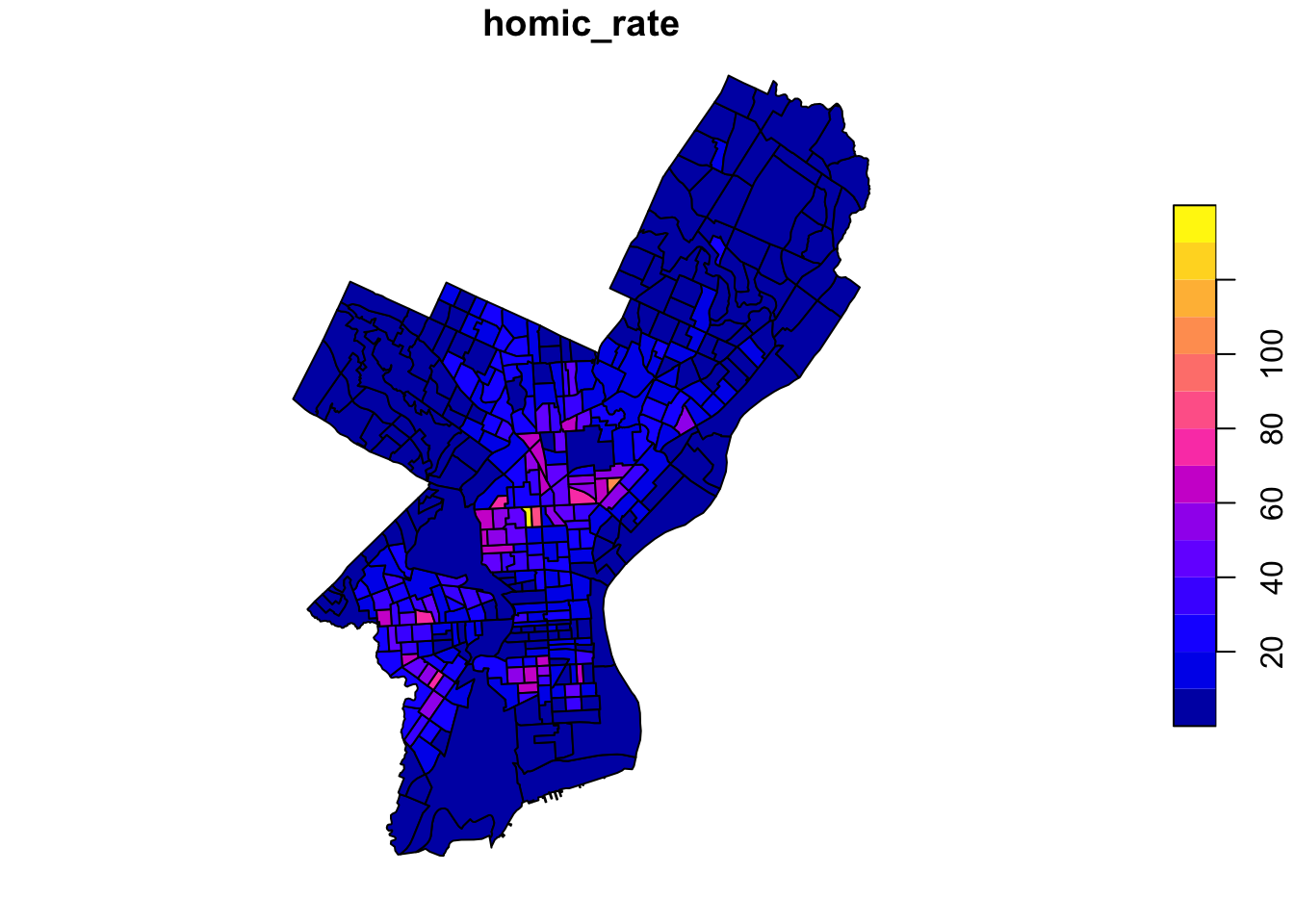 Chapter 3 Making Maps in R | Using Spatial Data with R